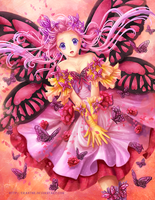 Spring Love Butterfly by Eranthe