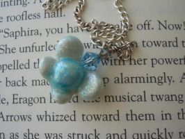 Legend of Zelda Navi Necklace- For Sale by JenniferSlattery