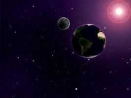 Space Scene by dhosford