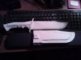 Second Halo Reach Chest Knife by ZombieGrimm