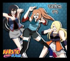 Naruto- Team 14 POWA! by NatsuCookies