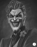 Joker - Etch and Sketch by PhotoshopIsMyKung-Fu