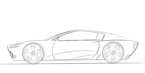 Ferrari Sketch by 200500182