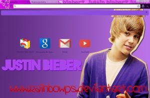 Justin Bieber Theme by RainbowPS