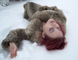 Fur and Snow III by fetishfaerie-stock