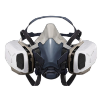 Tom Clancy's The Division breather mask render png by Matbox99