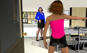 Jill May Teach 3 by spandexsleuth