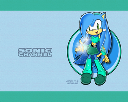 Sonic Channel Jenny Wallpaper by E-122-Psi