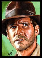 Indiana Jones by SSwanger