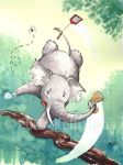 Elephant and the Fly by KelliRoos