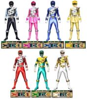 Mighty Morphin Dino Charge Rangers by Greencosmos80