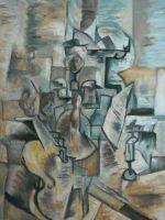 Cubism Study by MissElsy
