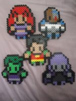 Titans GO! by PerlerHime