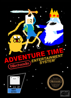 Adventure time nes by clebersan