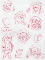 Danny the Screenwriter by Nintendo-Nut1