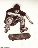 :: Skateboarder: Air Is... :: by autumnalangel