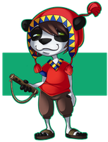 Panda from Peru by TalinComill