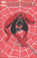 Scarlet Spider Sketch Variant 1 - Front Cover by chrismas-81