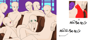Bleach Group Base Without Hair by Wolf-In-Human-Flesh