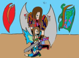 Young Love: Angel: Coloured by xxxBrokenSoulxxx