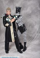 Cosplay - White Snake and Pucci by hanyaanfaery