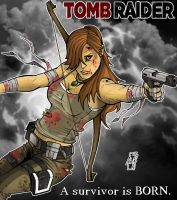 Lara Croft : A survivor is BORN. by Spidertof