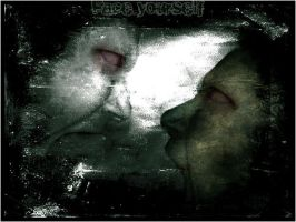 Me grunge 2 Face yourself by PimArt