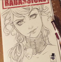 Badassical Sketch Cover by ColletteTurner