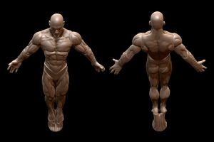 3D Scan of ActionFigures - Doc Manhattan by Hal8998