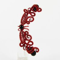 Blood Fairy Ear Cuff by sylva
