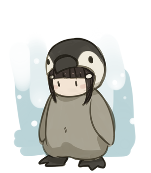 Dia in a Penguin Suit by Meinkenny