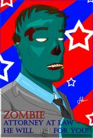 Zombie Attorney at Law by jornas