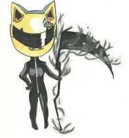 Celty chibi by ElfOfVirtue