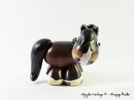 Custom horse - seal brown by AnimalisCreations