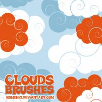 Clouds Photoshop Brushes by Romenig