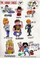 7 Deadly Sins by FrictionByrne