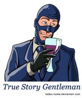 Team Fortress 2 - True Story Gentleman by Tadeu-Costa
