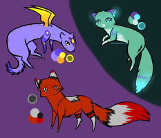Adopts Eggs Hatched 4 by MagicMoonbeams
