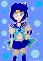 Super Sailor Mercury by Sweet-Blessings