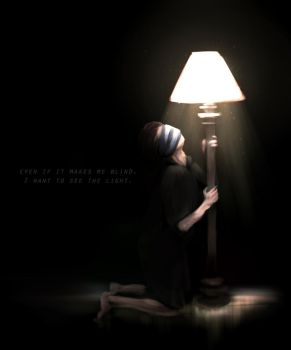 Even If It Makes Me Blind by Achlucide