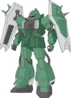 ZGMF-1000-2 ZAKU IWT by Lowehart