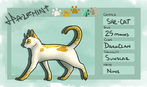 .:Halfmint:. - Reference Sheet by little-space-ace