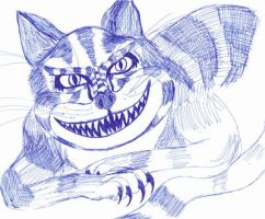 Cheshire Cat by KEArnold