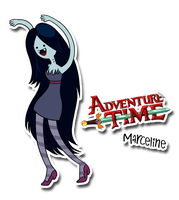 Marceline's Adventure Time by Furboz