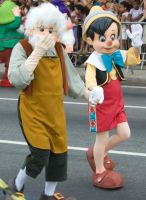 Geppetto n Pinocchio by melissa-andrade