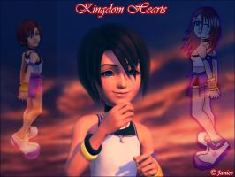 Kingdom Hearts Wallpaper by chaotic-chick