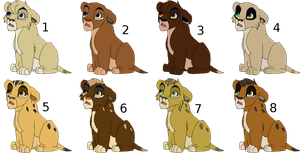Lion Adopts-closed by Shade1193