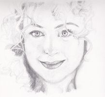 Alex Kingston by MiaMeadows