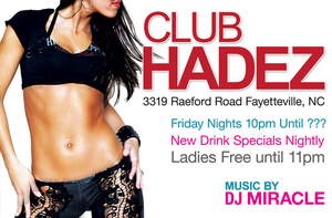 Club HADEZ Flyer by OutlawRave