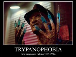 Trypanophobia Demotivational Poster by scarehuman